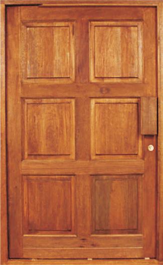 Meranti Pivot Doors