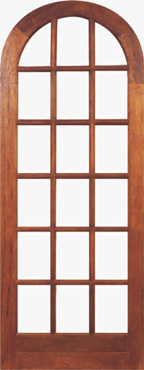 Meranti Arch Doors