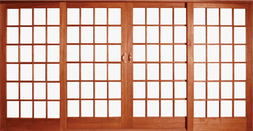 meranti sliding doors