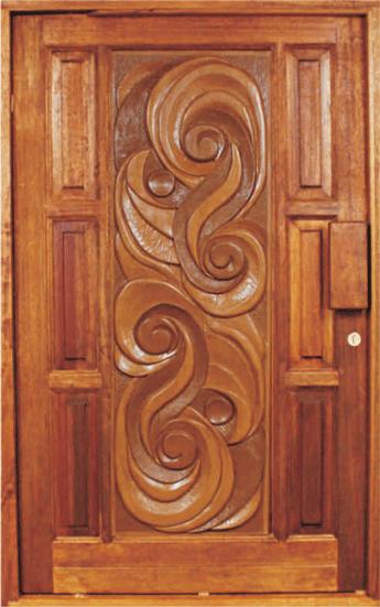 & Meranti 3D Craft Doors